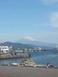 白化粧富士山